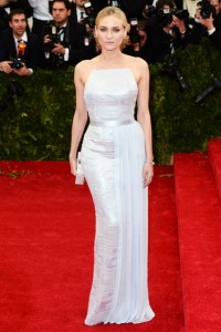 Diane Kruger in a HUGO BOSS dress.