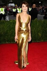 Lea Michele wore a custom-made Altuzarra
